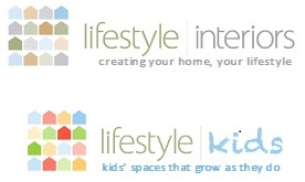 Lifestyle Interiors & Lifestyle Kids logos with tags