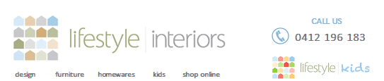 Lifestyle Interiors Website Title Banner